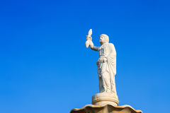 Statue of Zeus Royalty Free Stock Photography
