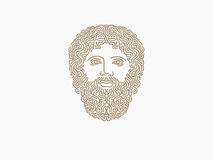 Zeus logo Royaltyfri Fotografi