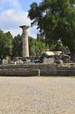 Zeus of Olympia Stock Images