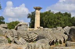 Zeus of Olympia Stock Image