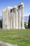 zeus olympique de temple Image stock