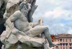 Zeus sculpture, by Bernini Royalty Free Stock Photo