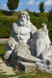 zeus standbeeld Lvivkasteel Royalty-vrije Stock Foto