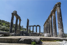 Zeus-Tempel lizenzfreie stockfotografie