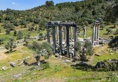 Zeus-Tempel lizenzfreies stockfoto