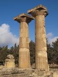 Zeus-Tempel in Cyrene Lizenzfreie Stockfotografie