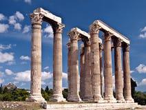 Zeus' Temple Royalty Free Stock Photo