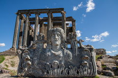 Zeus Temple, Aizonai, Kutahya, Turkey Royalty Free Stock Images