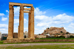 Zeus temple, Athens, Greece Stock Photography