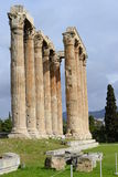 Zeus temple in Athens Royalty Free Stock Photo