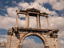 Zeus' Temple Entrance Stock Image