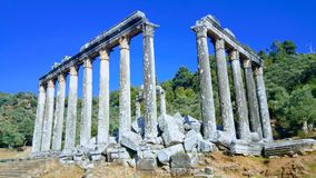 Zeus Temple Royalty Free Stock Photo