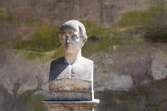 Zeusi雕象在罗马,意大利 免版税图库摄影