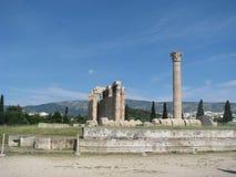Zeuss tempel Arkivfoto