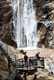 Zeven Dalingen van Colorado Springs Stock Foto