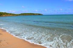 Zeven Overzees Strand Puerto Rico Stock Foto