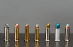Assortiment van kogels Stock Afbeelding