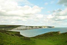 Zeven zustersklip in Engeland Royalty-vrije Stock Afbeelding