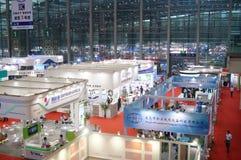 Zeventiende China Internationale die Optoelectronic Expo, in Shenzhen-Overeenkomst en Tentoonstellingscentrum wordt gehouden Stock Fotografie