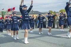Zeventiende van kan, de nationale dag van Noorwegen Stock Afbeelding
