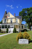Zewnętrzna architektura w historycznym Gibson Woodbury domu, Północny Conway, New Hampshire, 2016 Zdjęcie Royalty Free