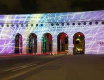 Zewnętrzna Grodowa brama w Wiedeń Austria Obrazy Royalty Free