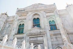 Zewnętrzna strona Sehzade Camii meczet Sławny Muzułmański meczet w Fatih okręgu w Europejskiej części Zdjęcia Royalty Free