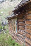 Zewnętrzne bela domu góry Fotografia Royalty Free