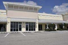 zewnętrznego biura handel detaliczny mały sklep fotografia royalty free