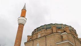 Zewnętrzni elementy Banya Bashi meczet w Sofia, odbudowa, konserwacja zdjęcie wideo