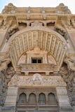 Zewnętrznie fasada Baron Empain pałac, Heliopolis okręg, Kair, Egipt obrazy stock