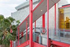 Zewnętrzny schody Los Angeles okręgu administracyjnego muzeum sztuki Fotografia Stock