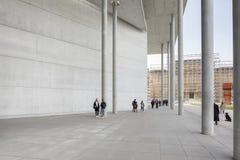 Zewnętrzny wejście pinakoteka Dera Moderne Obraz Stock