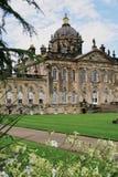 Zewnętrzny widok Grodowy Howard w Yorkshire Anglia obraz stock