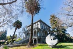 Zewnętrzny widok sławny Crocker muzeum sztuki Fotografia Royalty Free