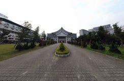 Zewnętrzny widok Taipei Tzu Chi szpital zdjęcie stock
