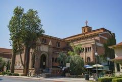 Zewnętrzny widok Zlany Uniwersytecki kościół fotografia royalty free