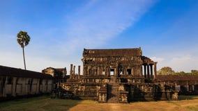 Zewnętrzna klauzura Angkor Wat Obraz Royalty Free