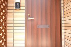 Zewnętrzny drzwi Fotografia Stock