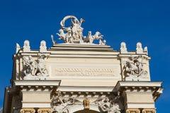 Zewnętrzny opery theatre Odessa przeciw niebieskiemu niebu Fotografia Stock