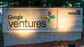 Zewnętrzny widok Google Ryzykuje biuro Obraz Stock