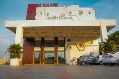 Zewnętrzny widok hotel Obraz Stock