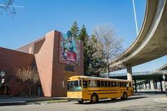 Zewnętrzny widok Kalifornia stanu linii kolejowej muzeum Obrazy Royalty Free