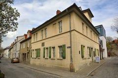 Zewnętrzny widok Nietzsche Haus w Naumburg Obrazy Stock