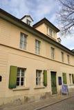 Zewnętrzny widok Nietzsche Haus w Naumburg Obrazy Royalty Free