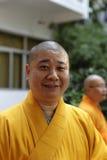 Zewu, abbot of nanputuo temple Royalty Free Stock Photo