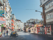 Zeytinburnu neighbourhood in Istanbul. Stock Image