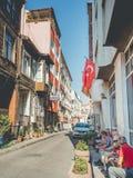 Zeytinburnu neighbourhood in Istanbul. royalty free stock photography
