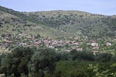 Zeytinli Village houses Royalty Free Stock Photo