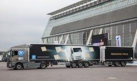 ZF innowaci ciężarówka Zdjęcie Stock